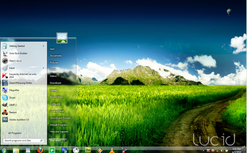 20 Best Windows 7 Themes That You Should Download - TechLarva