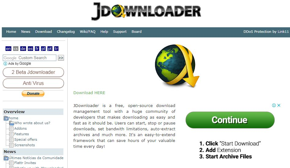 anti download manager