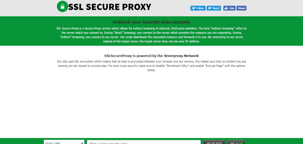 List of 20 Proxy Sites to Unblock Facebook - TechLarva