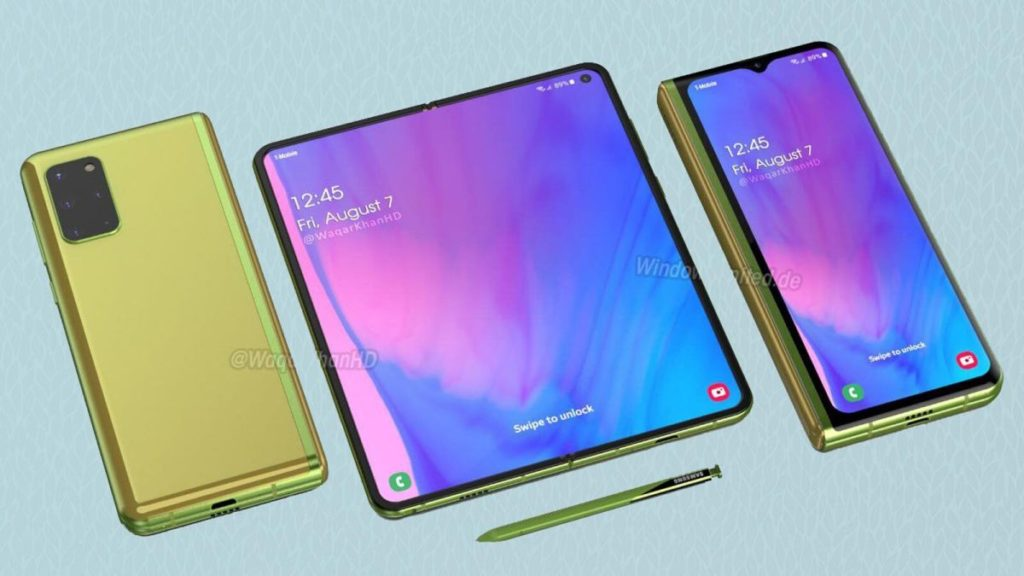 About Samsung Galaxy Z Fold 2